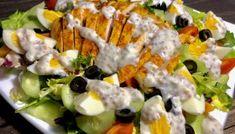 Sałatka nicejska z kurczakiem Cobb Salad, Potato Salad, Sushi, Potatoes, Ethnic Recipes, Blog, Potato, Blogging, Sushi Rolls