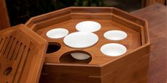 I like the shape and that it serves 2 purposes - gong fu and storage.