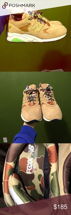 """New Balance 580 """"Fingercroxx"""" Size 10 Worn once! Wiped down after wear. Really limited shoe! Contact for more info or pictures! If you live in NYC, I'll be willing to meet! New Balance Shoes Sneakers"""