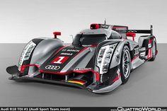 Audi R18 Ultra - V6 TDI Turbo Diesel