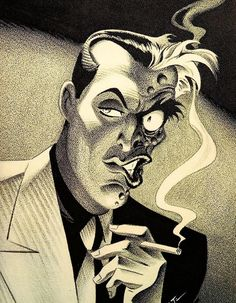 Two Face by Bruce Timm