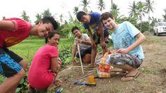 Ehepaar hilft Bauern auf den Philippinen