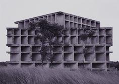 "acidadebranca: ""1957 | Le Corbusier | Tower of Shadows, Chandigarh, India """