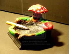 FANTASY FOREST ASHTRAY 2 by oto-robotnik