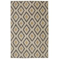 Tribal Diamond Tan Rectangular: 8 Ft. x 10 Ft. Rug - (In No Image Available)