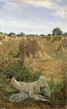 reprodukcja 94 Degrees in the Shade, Lawrence Alma-Tadema 127