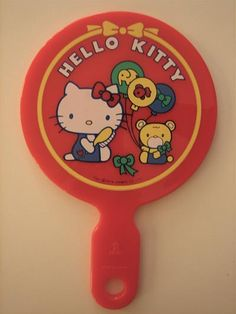 Hello Kitty Vintage Sweets ❤ vintage Hello Kitty hand mirror