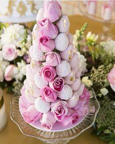 Beautiful strawberry tower #chocolate #yum #dessert #strawberries #wedding…