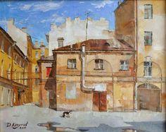 Saint Petersburg by Dmitry Kotunov_Котунов Дмитрий. Проходной двор