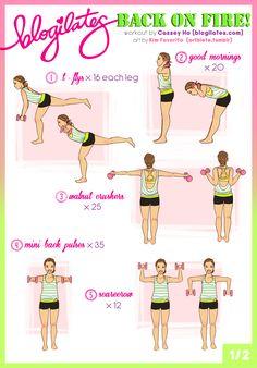 DIY Back Workout