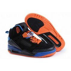 Women Nike Air Jordan 3.5 Retro Suede Black Blue Orange Jordan Shoes For Women, Jordan Shoes Online, Cheap Jordan Shoes, Michael Jordan Shoes, Air Jordan Shoes, Jordan Sneakers, Cheap Shoes, New Jordans Shoes, The Originals