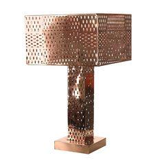 Pols Potten- Lamp-tafellamp-Josephine-Koper | nisha-interieur -online interieur, design,cadeau en decoratie winkel.