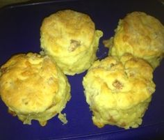 Cheese and Bacon Scones: A quick and easy savoury snack for any time of the day.