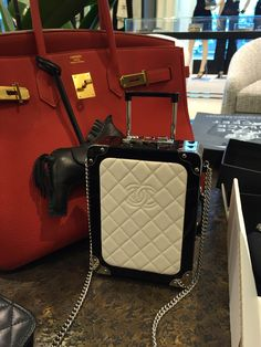 048c7382d68a Prepare for take-off as we explore the highlights of the Chanel Airlines  Spring Summer 2016 bags with eye candy and prices. PurseBop