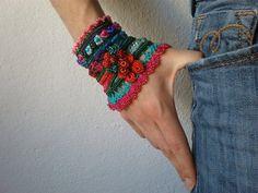 Echium Plantagineum  ... Freeform Crochet by irregularexpressions