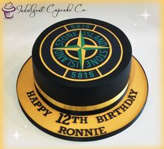 Stone Island cake........