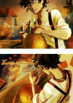 Come on, make the Archimedes sphere work already, save Hazel and Frank! Obviously saving them comes with a price. Wouldn't have expected anything less from Nemesis, I mean come on. Percy Jackson Fanart, Arte Percy Jackson, Percy Jackson Characters, Percy Jackson Books, Fictional Characters, Rick Riordan Series, Rick Riordan Books, Leo Valdez, Magnus Chase