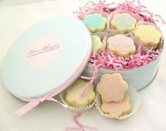 Pretty Cookie Gift idea for Easter