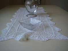 "All State Hand Crafted Crocheted Lace Table Runner, 16"" x 72"", Beige by All State, http://www.amazon.com/dp/B0053DQALW/ref=cm_sw_r_pi_dp_4RY4qb0PRBARV"