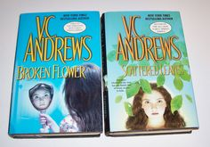 V.C. Andrews Early Spring Series 2 HC Lot  Broken Flower  Scattered Leaves