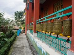 Prayer wheels, McLeod Ganj, Dharamsala, India #india #travel #tibet #prayer #Buddhism #tibet #culture #travel #Kamalan