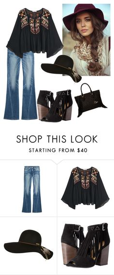 """""""Chic"""" by raynar01 ❤ liked on Polyvore featuring True Religion, MANGO, Billabong, Chinese Laundry and Diane Von Furstenberg"""