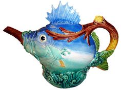TEAPOTS Minton Blowfish
