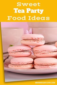 Looking for tea party food ideas and recipes for a ladies, kids or afternoon tea party? Here are great ideas for tea party sandwiches, sweets, scones, savory recipes that will keep all your guests happy. Tea Party Sandwiches, Finger Sandwiches, Party Food Menu, Tea And Crumpets, Green Tea Recipes, My Best Recipe, Sweet Tea, High Tea, Afternoon Tea