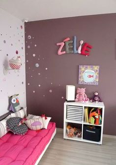 zelie prenom en tissu,chambre d'enfant,prenom decoratif,lettre en tissu,poc a poc