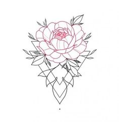 17 trendy tattoo flower red beautiful You are in the right place about dessin croquis person Mini Tattoos, Red Tattoos, Flower Tattoos, Body Art Tattoos, Cool Tattoos, Tattos, Mandala Tattoo, Arm Tattoo, Sleeve Tattoos