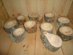 Grab Bag of 20 Tree Branch Candle Holders, Rustic Wedding Candle Holders, Rustic Wedding Centerpieces, Wood Candle Centerpieces. This would be so cute with flowers around it! Rustic Candle Holders, Candle Holders Wedding, Rustic Wedding Centerpieces, Candle Centerpieces, Rustic Weddings, Diy Wedding, Wedding Ideas, Wedding Decor, Dream Wedding