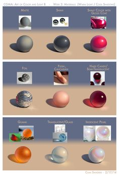 "Drawing Tips "" Dunno if anyone's interested in these, but this was my latest assignment for CGMA's Art of Color and Light class- this past week focused on how light interacts with different. Digital Art Tutorial, Digital Painting Tutorials, Painting Tips, Art Tutorials, Drawing Tutorials, Drawing Techniques, Drawing Tips, Drawing Reference, Doodle Drawing"