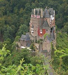 "Eltz Castle, Germany. Rick mentions this selection of castles as ""unblemished"" and free! And.....IT'S THE ONE I REPINNED FROM A DELETED TUMBLR ACCOUNT!!!! WOOHOO!!!"