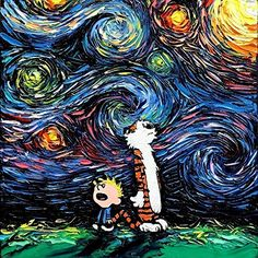 More Nerdy Van Gogh Inspired PrintsAvailable for purchase via Amazon | Part One |