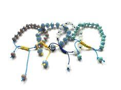ΜΑΚΡΑΜΕ ΜΕ ΧΑΝΤΡΕΣ. Beaded Necklace, Beaded Bracelets, Beads, Php, Jewelry, Fashion, Beaded Collar, Beading, Moda