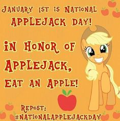 #NationalAppleJackDay