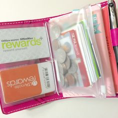 Wallet Planners for Midori Traveler's Notebooks + Peek into my Chic Sparrow Wallet - Wendaful