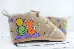 Best Baby Shoes, Painted Canvas Shoes, The Little Prince, Crochet Bikini, Sunglasses Case, Coin Purse, Baby Boy, Baby Shower, Hand Painted