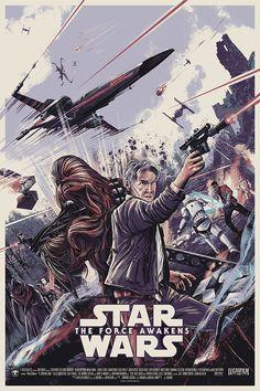 Star Wars: The Force Awakens | #starwars #starwarsart #starwarsfanart #theforceawakens #hansolo #chewbacca