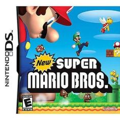 New Super Mario Bros --- http://www.amazon.com/New-Super-Mario-Bros-Nintendo-DS/dp/B000ERVMI8/?tag=zaheerbabarco-20