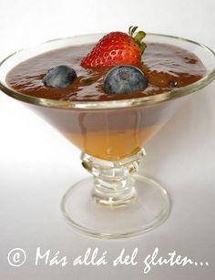 Más allá del gluten...: Mousse de Frutas (Receta SCD, GFCFSF, Vegana, RAW)