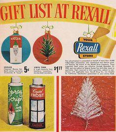 Rexall Christmas Ad 1963 | Flickr - Photo Sharing!