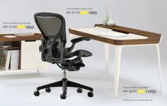 Get a discounted designer home office with the Living Edge sale this month - The Interiors Addict Office Desk, Home Office, Drafting Desk, Interiors, Furniture, Design, Home Decor, Desk Office, Decoration Home