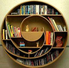Spiral Bookshelf   Bookcase.