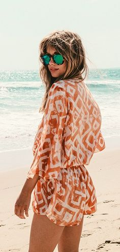 wild and free romper by Blue Life | PLANET BLUE