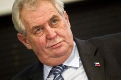 The Czech President Zeman completely wasted at a State function in May.