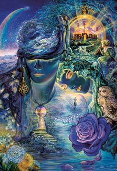 Artwork by Josephine Wall…Key to Eternity