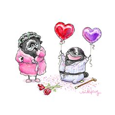 """Discover additional information on """"black pugs funny"""". Look at our internet site. Black Pug Puppies, Puppies And Kitties, Pug Illustration, Illustrations, Animals And Pets, Cute Animals, Pug Cartoon, Pug Art, Cute Pugs"""
