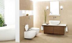 modern natural bathroom furniture interior design