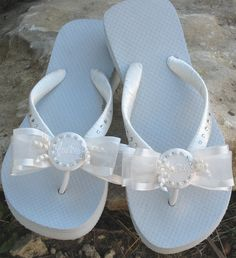 b07851186062b0 68 Best Bridesmaid flip flops and bridal images
